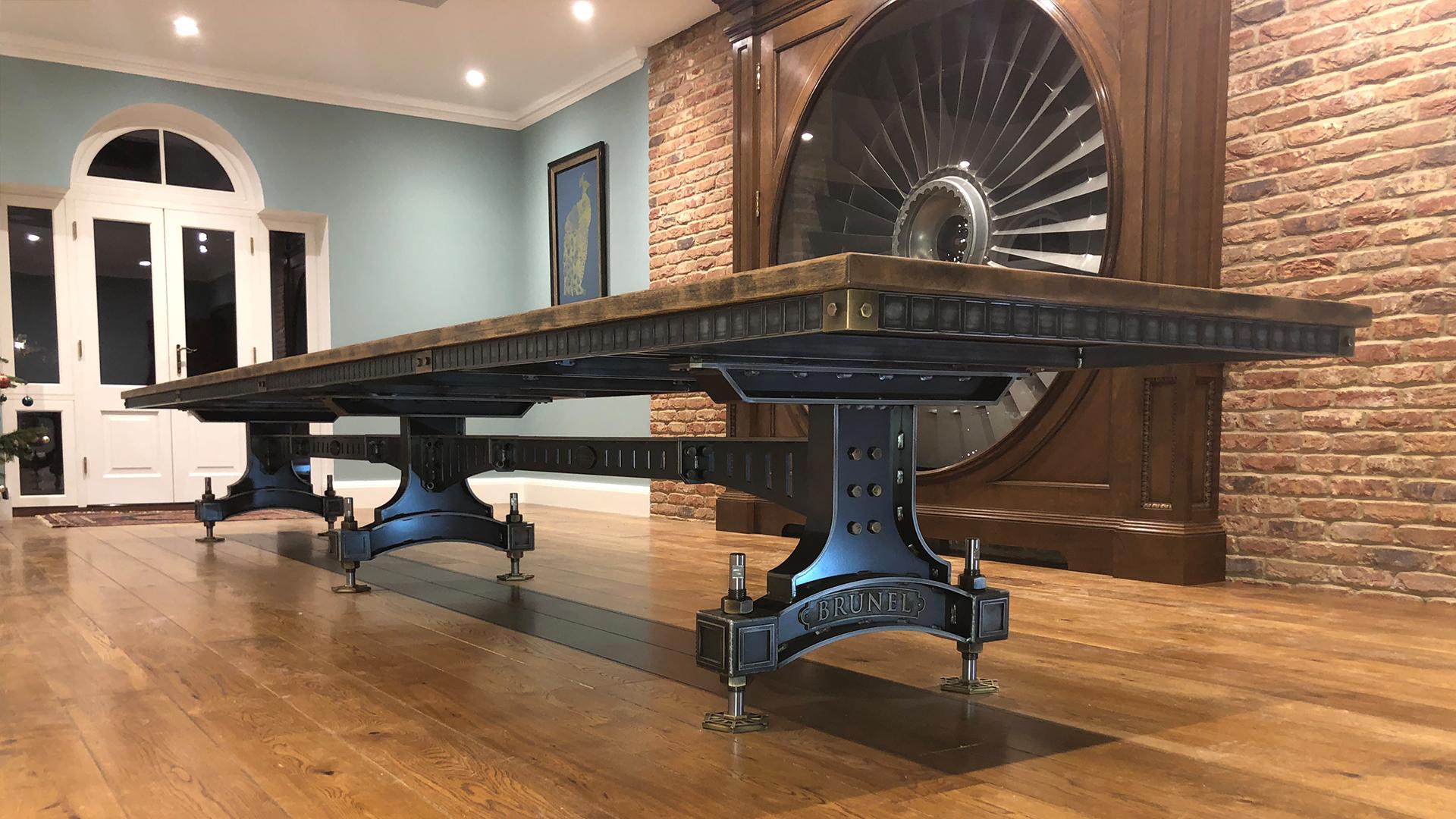 Steel Vintage Testimonial - David Brunel Table