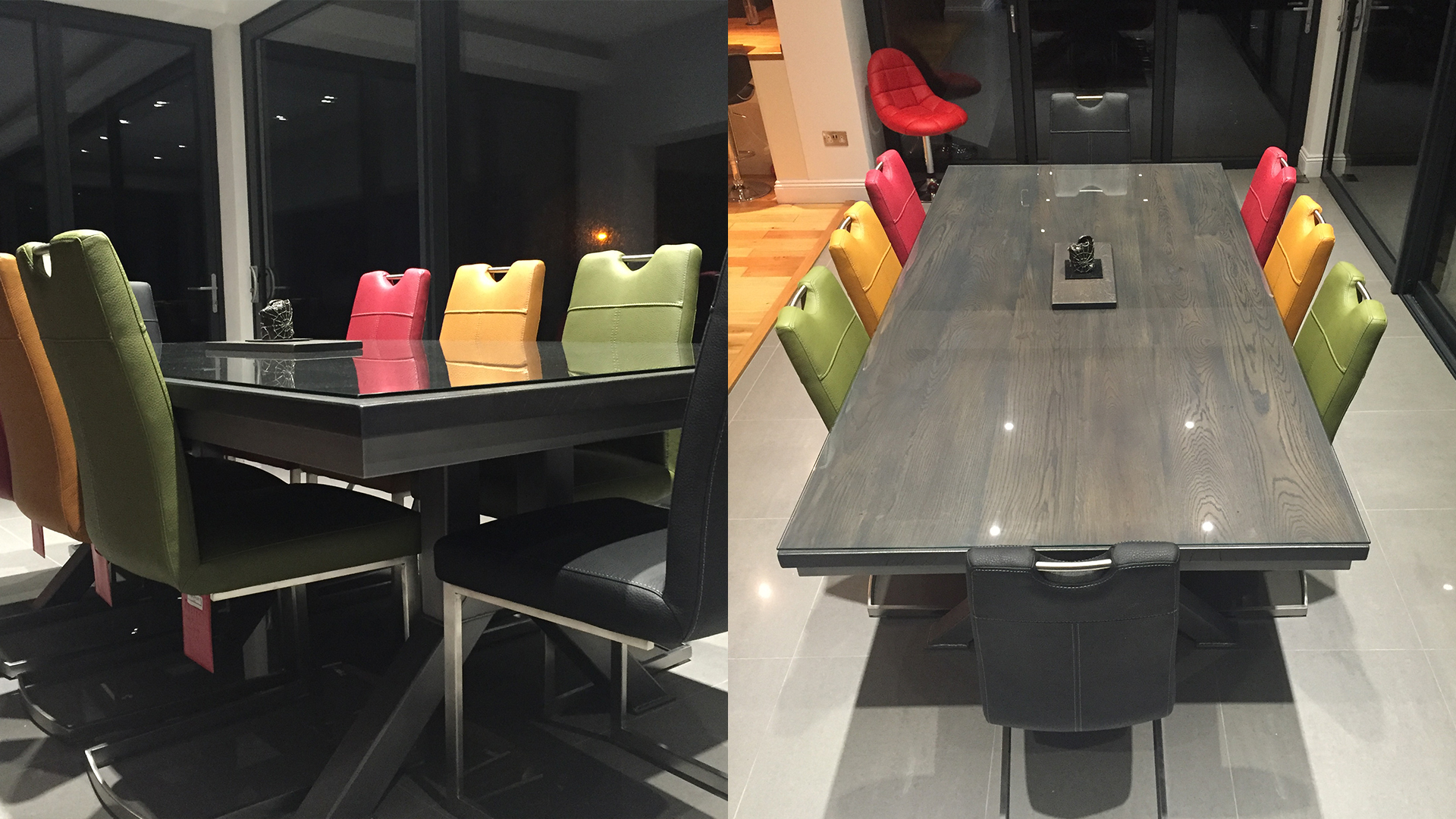 Steel Vintage Testimonial - Hayley Engineering Table